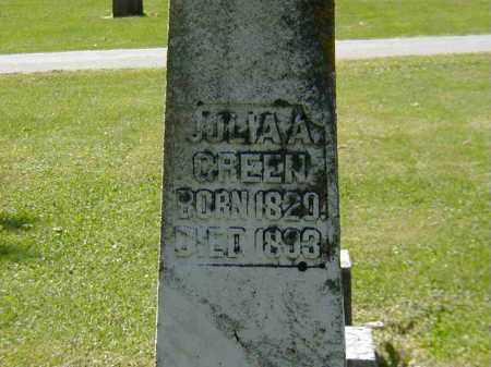 GREEN, JULIA A. - Preble County, Ohio | JULIA A. GREEN - Ohio Gravestone Photos