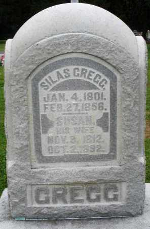 GREGG, SILAS - Preble County, Ohio | SILAS GREGG - Ohio Gravestone Photos