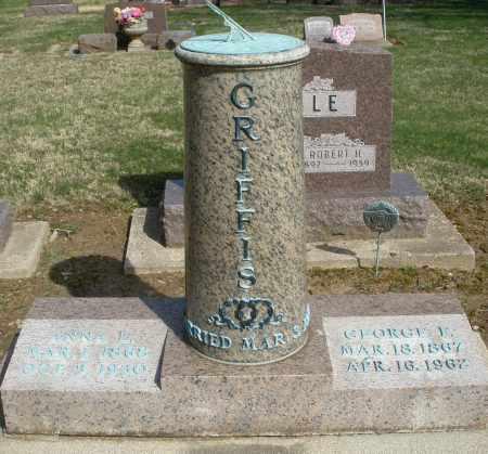 GRIFFIS, ANNA - Preble County, Ohio | ANNA GRIFFIS - Ohio Gravestone Photos