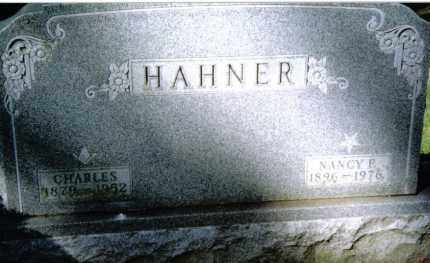 HAHNER, CHARLES - Preble County, Ohio | CHARLES HAHNER - Ohio Gravestone Photos