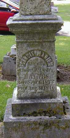HAINES, FRANCES MARION - Preble County, Ohio | FRANCES MARION HAINES - Ohio Gravestone Photos