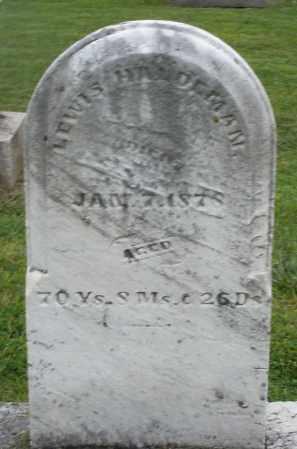HALDERMAN, LEWIS - Preble County, Ohio   LEWIS HALDERMAN - Ohio Gravestone Photos