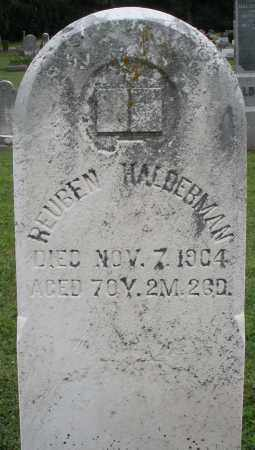 HALDERMAN, REUBEN - Preble County, Ohio | REUBEN HALDERMAN - Ohio Gravestone Photos