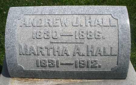 HALL, ANDREW J. - Preble County, Ohio | ANDREW J. HALL - Ohio Gravestone Photos