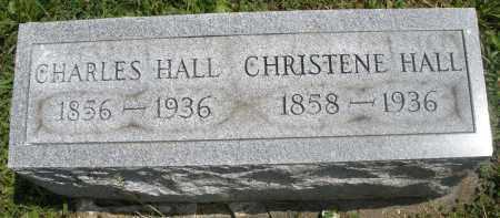 HALL, CHARLES - Preble County, Ohio | CHARLES HALL - Ohio Gravestone Photos