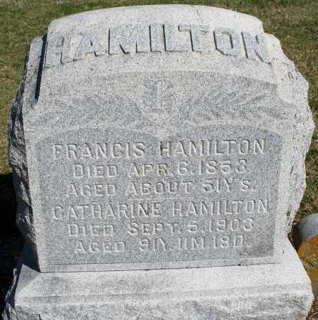 HAMILTON, CATHARINE - Preble County, Ohio | CATHARINE HAMILTON - Ohio Gravestone Photos
