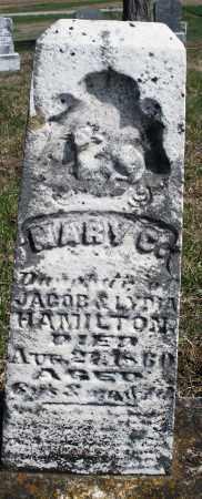 HAMILTON, MARY C. - Preble County, Ohio | MARY C. HAMILTON - Ohio Gravestone Photos