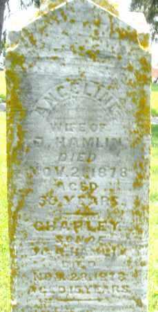 HAMLIN, ANGELINE - Preble County, Ohio | ANGELINE HAMLIN - Ohio Gravestone Photos