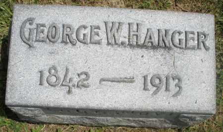 HANGER, GEORGE W. - Preble County, Ohio   GEORGE W. HANGER - Ohio Gravestone Photos