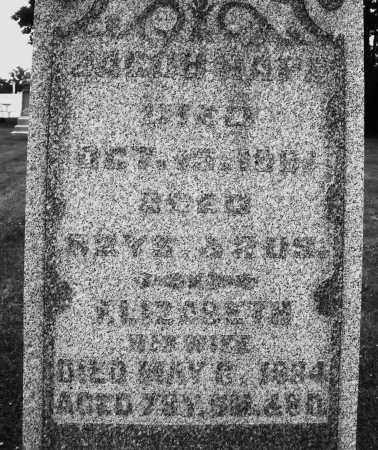 HAPE, JACOB - Preble County, Ohio | JACOB HAPE - Ohio Gravestone Photos