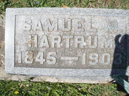 HARTRUM, SAMUEL M. - Preble County, Ohio   SAMUEL M. HARTRUM - Ohio Gravestone Photos