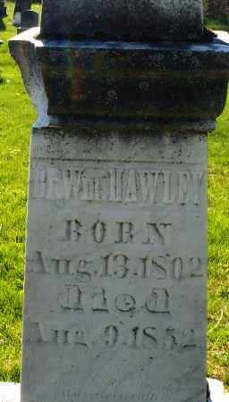 HAWLEY, WILLIAM DR. - Preble County, Ohio   WILLIAM DR. HAWLEY - Ohio Gravestone Photos