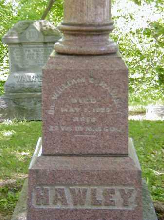 HAWLEY, WILLIAM B., DR. - Preble County, Ohio   WILLIAM B., DR. HAWLEY - Ohio Gravestone Photos