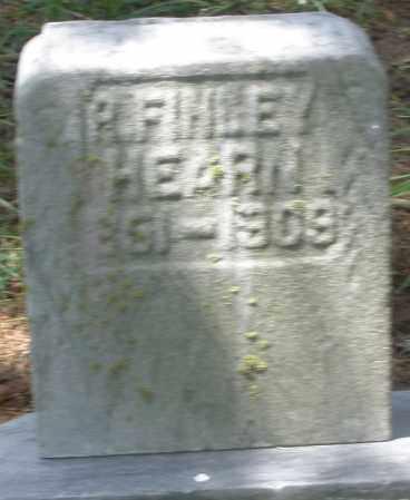 HEARN, P. FINLEY - Preble County, Ohio | P. FINLEY HEARN - Ohio Gravestone Photos