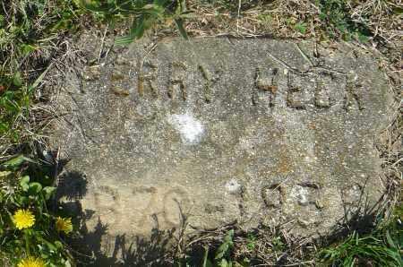 HECK, PERRY - Preble County, Ohio   PERRY HECK - Ohio Gravestone Photos