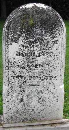 YOUNG HECKMAN, MARY - Preble County, Ohio | MARY YOUNG HECKMAN - Ohio Gravestone Photos