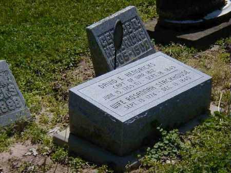HENDRICKS, ROSANNAH STACKHOUSE - Preble County, Ohio | ROSANNAH STACKHOUSE HENDRICKS - Ohio Gravestone Photos