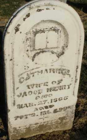 HENRY, CATHARINE - Preble County, Ohio   CATHARINE HENRY - Ohio Gravestone Photos