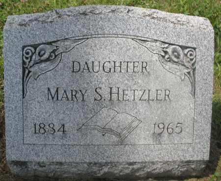 HETZLER, MARY S. - Preble County, Ohio | MARY S. HETZLER - Ohio Gravestone Photos