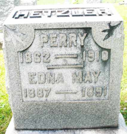 HETZLER, EDNA MAY - Preble County, Ohio | EDNA MAY HETZLER - Ohio Gravestone Photos