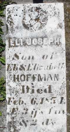 HOFFMAN, ELI JOSEPH - Preble County, Ohio | ELI JOSEPH HOFFMAN - Ohio Gravestone Photos
