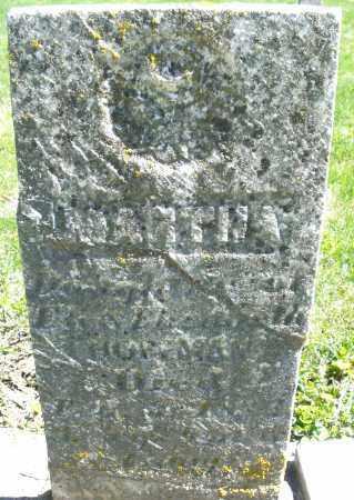 HOFFMAN, MARTHA - Preble County, Ohio | MARTHA HOFFMAN - Ohio Gravestone Photos