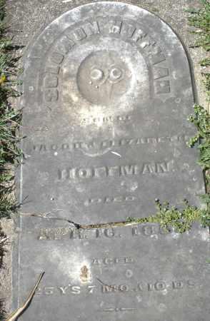 HOFFMAN, SOLOMON - Preble County, Ohio | SOLOMON HOFFMAN - Ohio Gravestone Photos