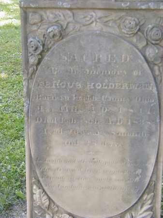 HOLDERMAN, FERGUS - Preble County, Ohio | FERGUS HOLDERMAN - Ohio Gravestone Photos