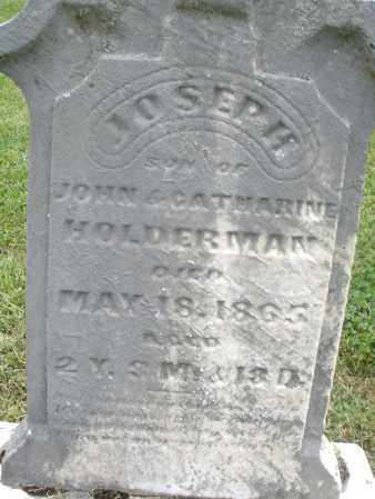 HOLDERMAN, JOSEPH - Preble County, Ohio | JOSEPH HOLDERMAN - Ohio Gravestone Photos