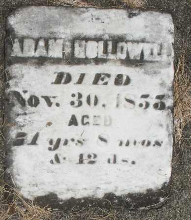 HOLLOWELL, ADAM - Preble County, Ohio   ADAM HOLLOWELL - Ohio Gravestone Photos