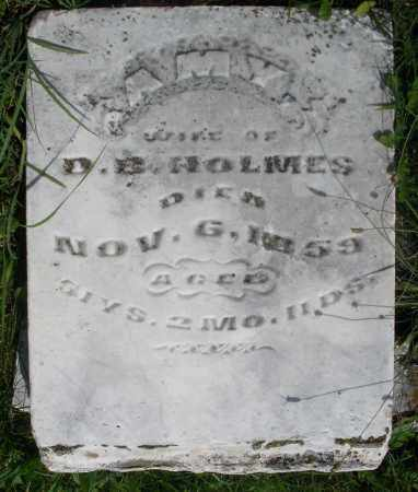 HOLMES, AMY - Preble County, Ohio   AMY HOLMES - Ohio Gravestone Photos
