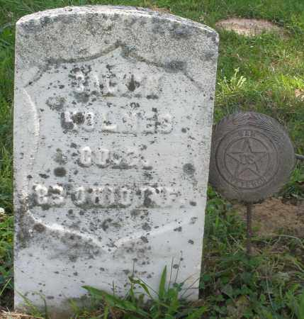 HOLMES, B. ? - Preble County, Ohio | B. ? HOLMES - Ohio Gravestone Photos