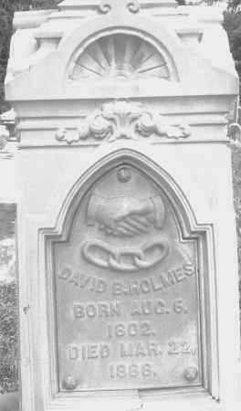 HOLMES, DAVID B. - Preble County, Ohio | DAVID B. HOLMES - Ohio Gravestone Photos