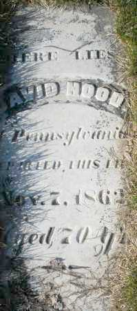 HOOD, DAVID - Preble County, Ohio | DAVID HOOD - Ohio Gravestone Photos