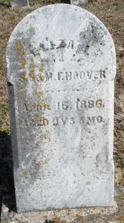 HOOVER, ELIZABETH - Preble County, Ohio | ELIZABETH HOOVER - Ohio Gravestone Photos