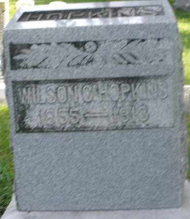 HOPKINS, WILSON C. - Preble County, Ohio   WILSON C. HOPKINS - Ohio Gravestone Photos