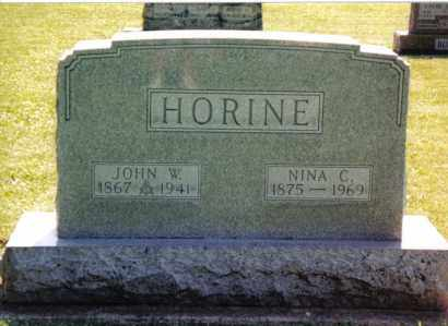 HORINE, NINA C. - Preble County, Ohio | NINA C. HORINE - Ohio Gravestone Photos