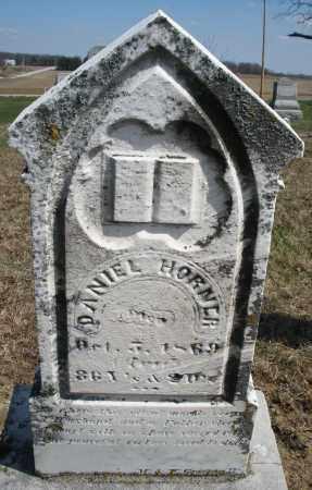 HORNER, DANIEL - Preble County, Ohio | DANIEL HORNER - Ohio Gravestone Photos