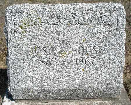 HOUSE/HOUS, JOSIE - Preble County, Ohio | JOSIE HOUSE/HOUS - Ohio Gravestone Photos