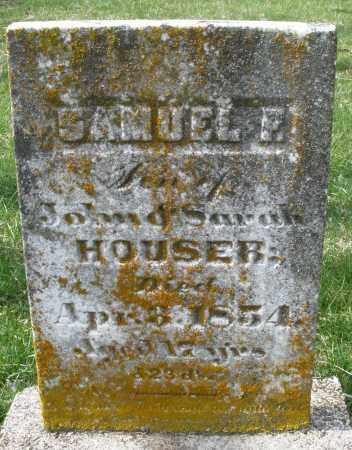HOUSER, SAMUEL - Preble County, Ohio   SAMUEL HOUSER - Ohio Gravestone Photos
