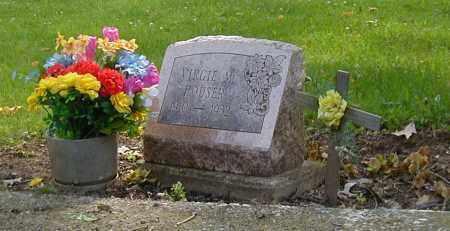 HOUSER, VIRGIE M. - Preble County, Ohio   VIRGIE M. HOUSER - Ohio Gravestone Photos