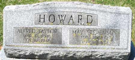 HOWARD, ALFRED TAYLOR - Preble County, Ohio | ALFRED TAYLOR HOWARD - Ohio Gravestone Photos