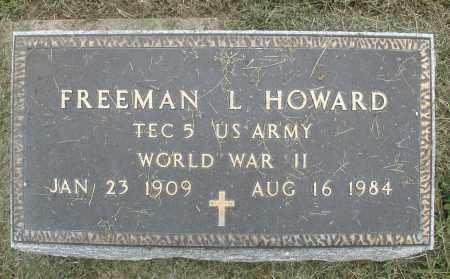 HOWARD, FREEMAN L. - Preble County, Ohio | FREEMAN L. HOWARD - Ohio Gravestone Photos