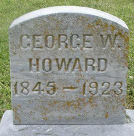 HOWARD, GEORGE W. - Preble County, Ohio | GEORGE W. HOWARD - Ohio Gravestone Photos