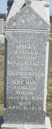 HUBLER, MILES - Preble County, Ohio   MILES HUBLER - Ohio Gravestone Photos
