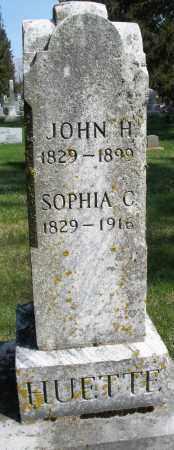 HUETTE, SOPHIA C. - Preble County, Ohio   SOPHIA C. HUETTE - Ohio Gravestone Photos