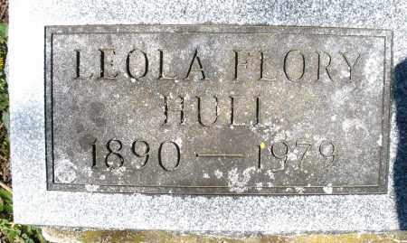 FLORY HULL, LEOLA - Preble County, Ohio   LEOLA FLORY HULL - Ohio Gravestone Photos