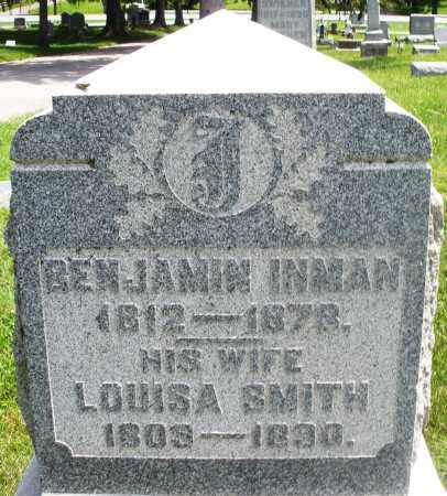 INMAN, BENJAMIN - Preble County, Ohio | BENJAMIN INMAN - Ohio Gravestone Photos
