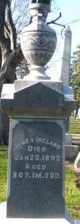 IRELAND, JAMES - Preble County, Ohio   JAMES IRELAND - Ohio Gravestone Photos