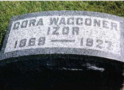 WAGGONER IZOR, CORA - Preble County, Ohio | CORA WAGGONER IZOR - Ohio Gravestone Photos